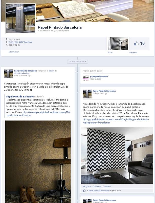 Papel Pintado Barcelona Facebook