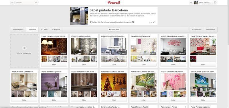 Link exchangenet work blog y directorio de links for Papel pintado barcelona